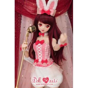 DM000071  Pink Bunny Girl