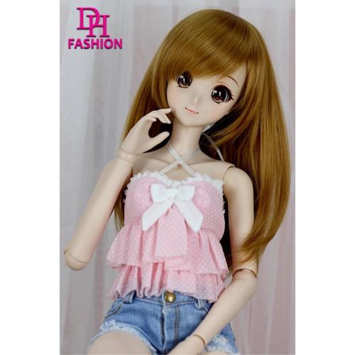 DM000070  Pink halter Top