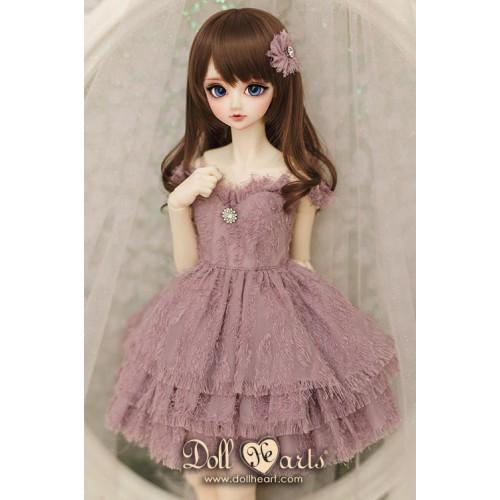 LD000807  Bridesmaid - Purple