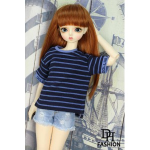 LA000365  Blue Stripes T-Shirt