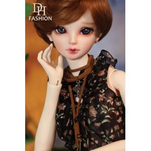 LD000791  Black Chiffon