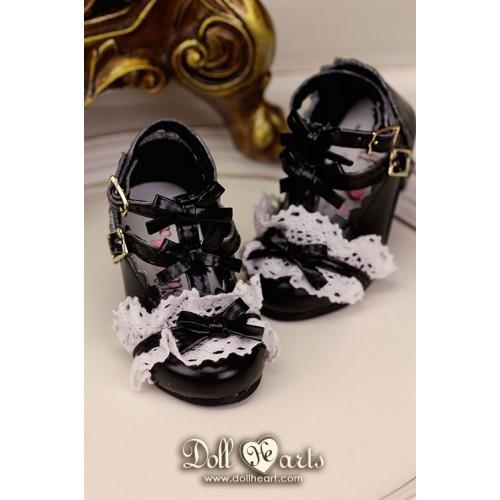 LS001424  Black Lolita Shoes