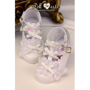 LS001425  White Lolita Shoes