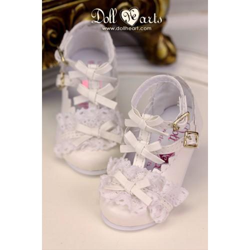 LS001425  White Lolita Shoes