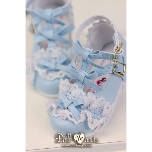 LS001423  Blue Lolita Shoes