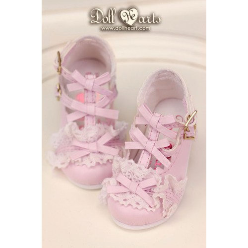 LS001417  Pink Lolita Shoes