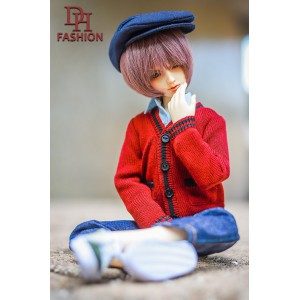 MD000319  Sweater & Hat