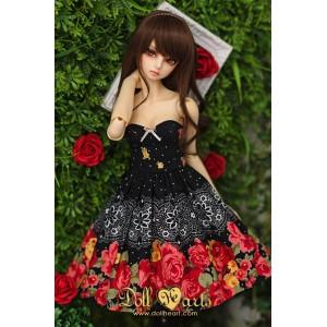 LD000777  Black Roses