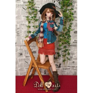 DY000037  DENIM COW Girl...