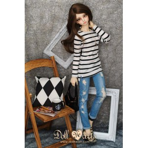 LA000337  Stripe T-Shirt-...