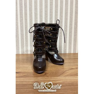 MS000641 Steampunk Mid Boots