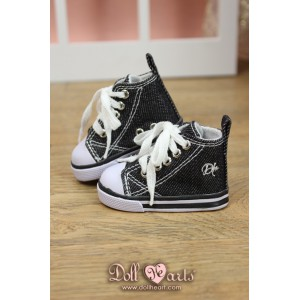 LS001450  Black Canvas Shoes