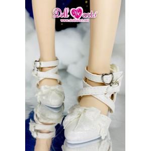 MS000647 白色Lolita鞋 [MSD]