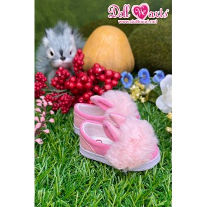 MS000649 Pink Fur Shoes [MSD]