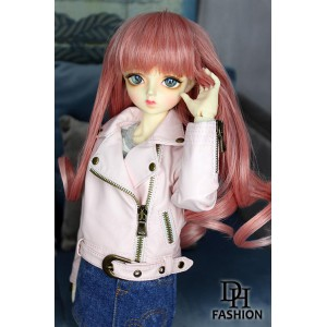 MD000414B Pink Biker Jacket [MSD]