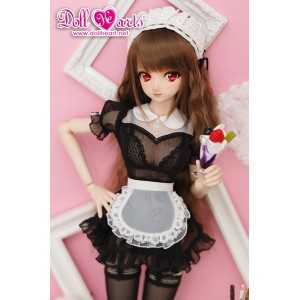 DL000048 Black See Through Maid [DDL/DDdy]