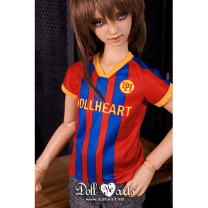 LD000845  Red& Blue Soccer Jersey  [SD13]