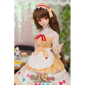 DL000017 CHECKER MAID - YELLOW