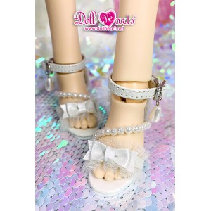 MS000653 White Pearl Sandals [MSD]