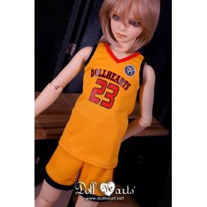 LD000842 Yellow Basketball Jersey [SD13]