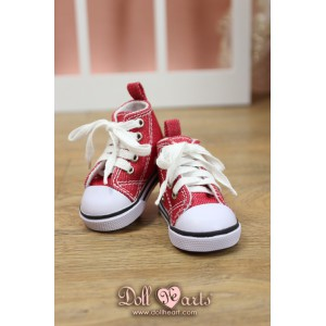 LS001444  Red Canvas Shoes