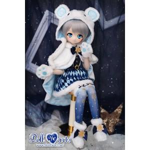 MD000452 Christmas Snow Bear [MDD]