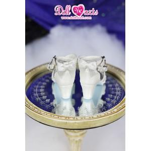 LS001454  White Lolita shoes