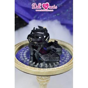 LS001455  Black Lolita shoes