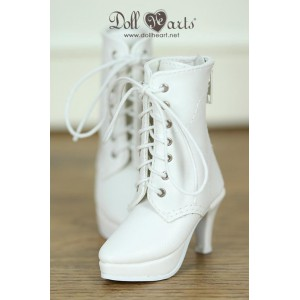 MS000631B  White Boots